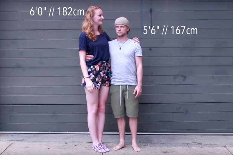 Nie każdej kobiecie przeszkadza niski mężczyzna. Dla wielu jednak wzrost poniżej 180 cm jest nie do przeskoczenia