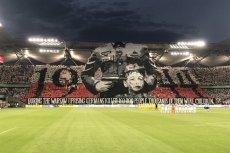 Właśnie ta oprawa spowodowała reakcję UEFA. To nie pierwszy raz, kiedy Legia Warszawa miałaby zapłacić za przewinienia swoich kibiców.