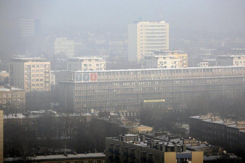 Smog w Katowicach.