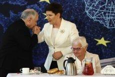 Jarosław Kaczyński miał źle zrozumieć Paula Ziemiaka.