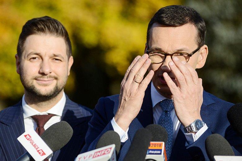Nerwowe działania PiS nie mogą dziwić. W ciągu miesiąca PiS straciło 11 pp., a nad Koalicją Obywatelską ma tylko 7 pp. przewagi.