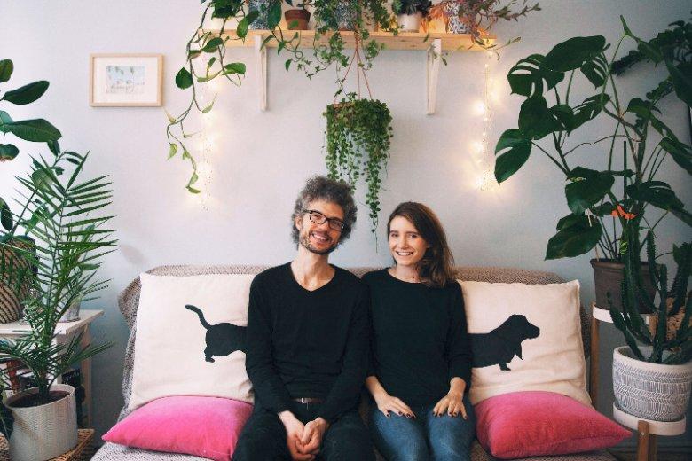 Beata i Remek są parą od 4,5 roku. Wbrew pozorom to nie rośliny ich połączyły.