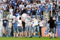 Zamieszki po przerwanym meczu Lech Poznań - Legia Warszawa w ostatniej kolejce Ekstraklasy.