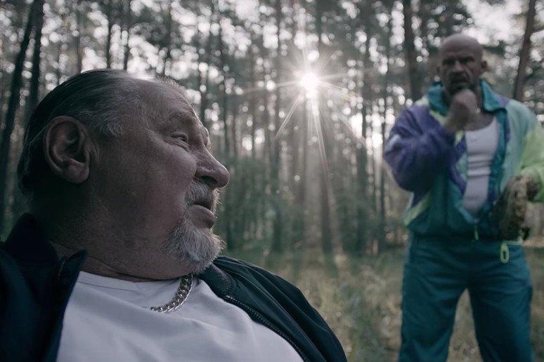 Tomasz Oświeciński i Andrzej Grabowski świetnie odnaleźli sięw roli Rodziny Oddano.