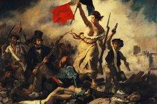 """Eugène Delacroix, """"Wolność wiodąca lud na barykady"""""""