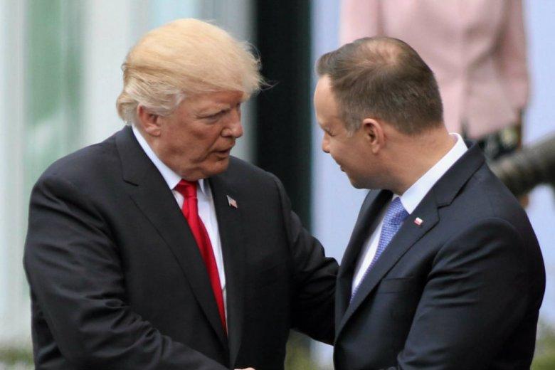 Donald Trump postawił Polskę przed faktem dokonanym ws. pokoju na Bliskim Wschodzie?