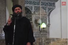 Fragment przemówienia lidera ISIS.