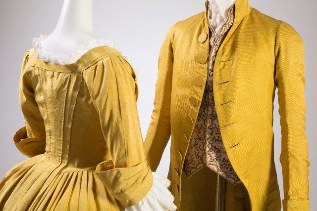 XVIII-wieczne ubrania