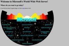Microsoft odkurza swojąstronę sprzed 20 lat.