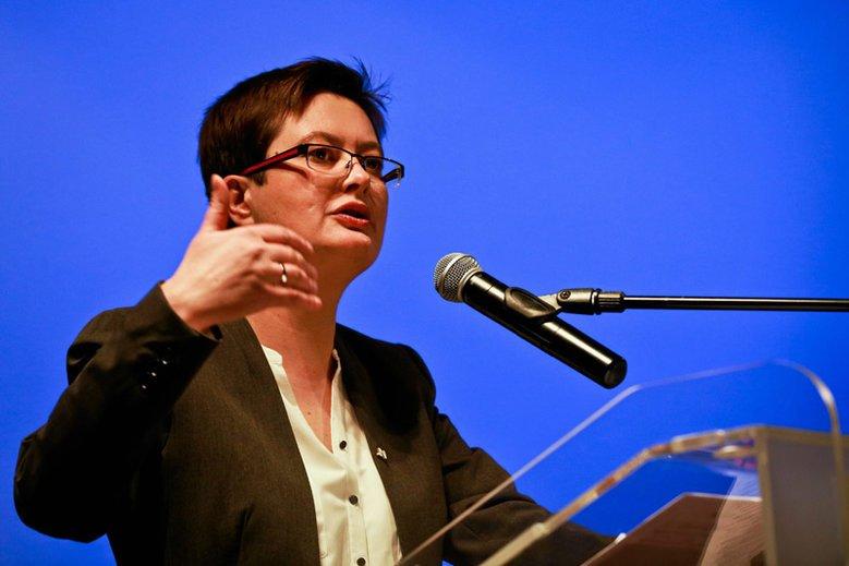Posłanka Katarzyna Lubnauer została wybrana nową przewodniczącą .Nowoczesnej.