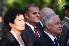 Hanna Gronkiwicz-Waltz przypomina, że jej rodzina odzyskała kamienicę za stołecznej kadencji Lecha Kaczyńskiego (na zdjęciu prezydent Warszawy i ś.p. prezydent Lech Kaczyński)