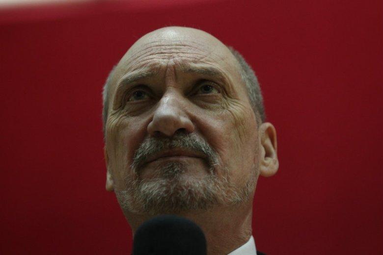 Antoni Macierewicz powrócił.