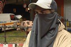 Czy tajemniczy mężczyzna ukrywający twarz za chustą to legendarny Banksy?
