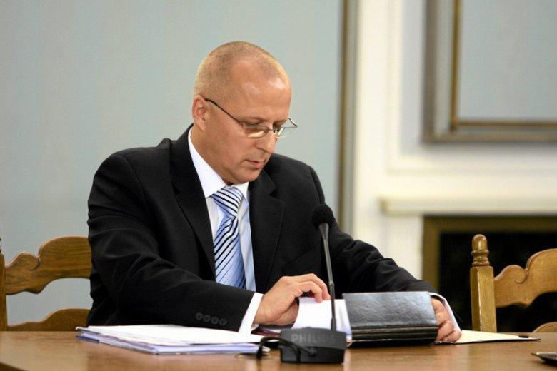 Prokurator Krzysztof Sierak to jeden z najbliższych współpracowników Zbigniewa Ziobry