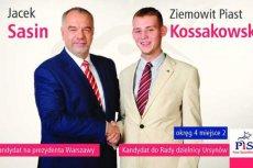 Ziemowit Kossakowski bez powodzenia startował z ramienia PiS w wyborach samorządowych.