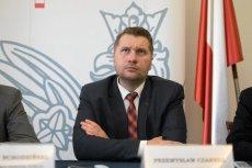 Przemysław Czarnek ma mocną pozycję w PiS.