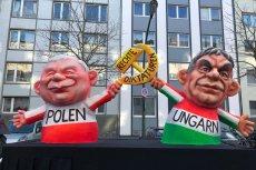 Jarosław Kaczyński staje się stałym bohaterem karnawałowych parad w Niemczech.