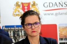 Aleksandra Dulkiewicz zawiadomiła policję po wypowiedzi Andrzeja Gwiazdy, który skomentował groźby pod adresem prezydent Gdańska.
