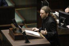 Poseł Sośnierz zaliczył wpadkę na posiedzeniu Zespołu Parlamentarnego.
