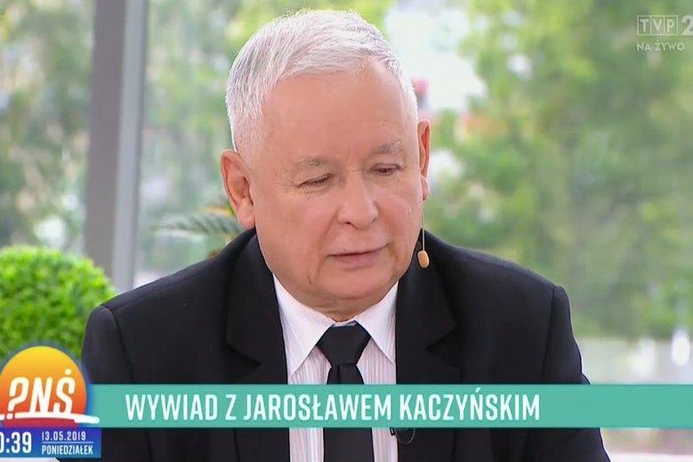 Jarosław Kaczyński był gościem Pytania na Śniadanie. Opowiadał m.in. o jedzeniu i kotach.
