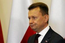 Mariusz Błaszczak nie akceptuje krytyki opozycji.