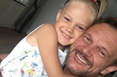 Córka Cezarego Pazury skończyła właśnie 10 lat.