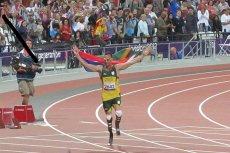 Oscar Pistorius na igrzyskach w Londynie rywalizował z pełnosprawnymi atletami. Teraz mierzy sięz koniem.