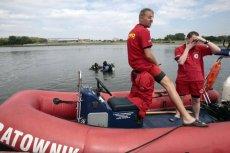 Wciąż trwają poszukiwania Piotra Woźniaka-Starak, który w niedzielę wypadł z motorówki.