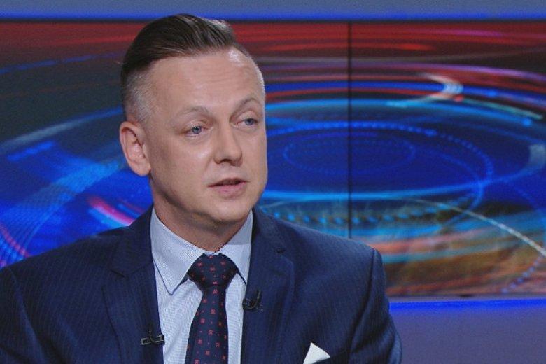 Tomasz Szmydt na antenie Polsatu zapewniał, że nie wie, gdzie jest jego była żona Emi.