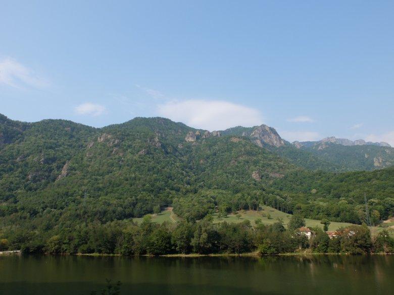 Krajobraz Transylwanii, Rumunia.