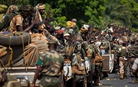 konflikt w Republice Śrokdowoafrykańskiej
