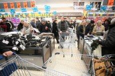 Europoseł PiS Kosma Złotowski pyta o ceny w Lidlu w Polsce i w Niemczech.