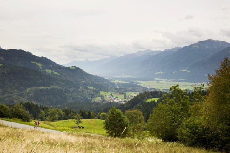 Dolina Gailtal to poza tradycyjnym, dobrym jedzeniem, również piękne spokojne widoki.