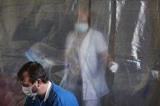 Szpital imienia Barlickiego w Łodzi podczas epidemii koronawirusa