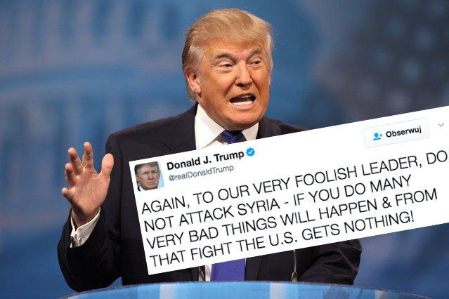 Jeszcze kilka miesięcy temu Donald Trump był stanowczym przeciwnikiem angażowania się USA w konflikt w Syrii.