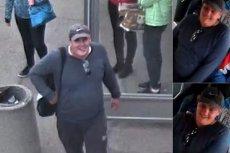Policja poszukuje mężczyzny, który bez powodu dwukrotnie uderzył na przystanku 11-latkę.