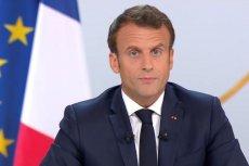 Emmanuel Macron wygłosił mocne przemówienie. Mówił m.in. o zmniejszeniu Strefy Schengen.