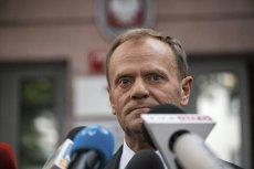 """Donald Tusk został mocno skrytykowany w piątkowym głównym wydaniu """"Wiadomości"""" TVP"""