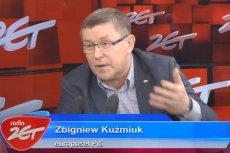 Poseł PiS Zbigniew Kuźmiuk pokracznie tłumaczył się z członkostwa w ZSL, przybudówce PZPR.