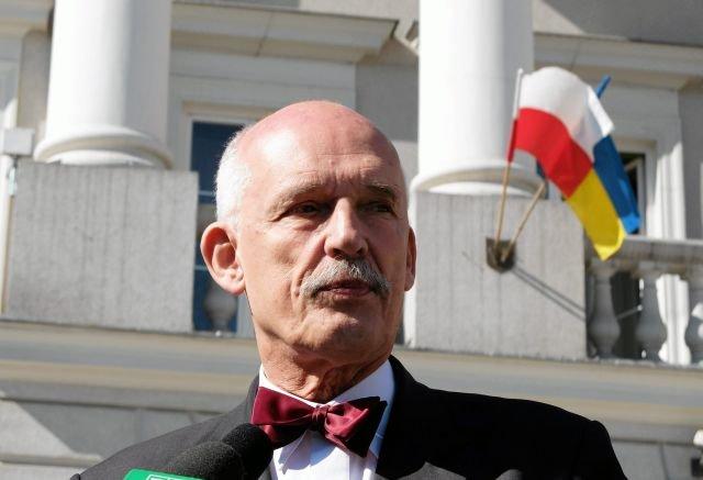 Janusz Korwin-Mikke proponuje Polsce najkrótszą ustawę zasadniczą świata.