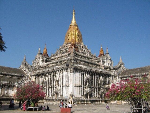 Świątynia Ananda w Bagan/Birma