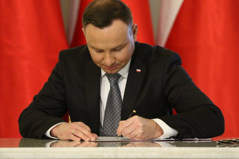 Prezydent Andrzej Duda zdecydował ws. ustawy o IPN