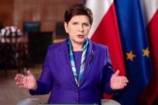 """""""Od pewnego czasu widzimy, że Wspólnota utknęła na mieliźnie"""" – mówiła Beata Szydło w orędziu do narodu."""