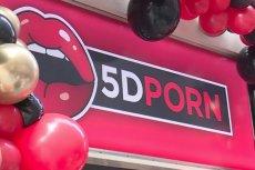 W Amsterdamie otwarto pierwsze kino porno 5D.