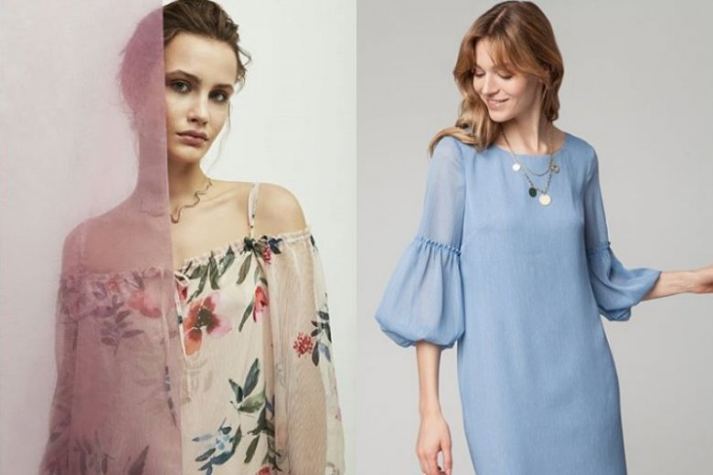 Sukienki w kwiatowe wzory, w pastelowych odcieniach to największe hity wśród weselnych gości