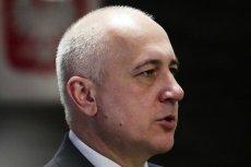 Minister MSWiA zawiadamia Departament Prawny o wpisie posła Szczerby.