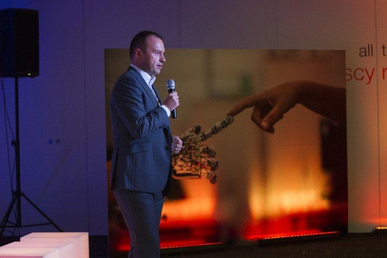 Spotkanie otworzył Wiktor Drożdż, dyrektor wykonawczy ds. korporacyjnych Orange Polska