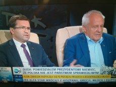 Stefan Niesiołowski ostro krytykuje Andrzeja Dudę.