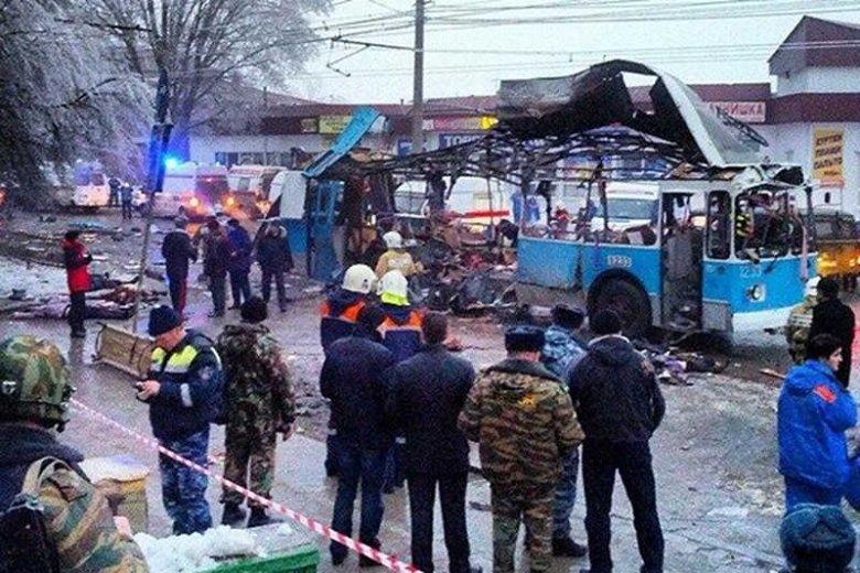 W dwóch zamachach bombowych w Wołgogradzie zginęło co najmniej 31 osób.