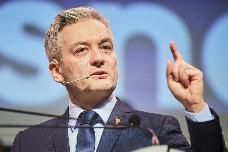 Robert Biedroń nie wykluczył koalicji z opozycją po wyborach parlamentarnych.